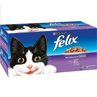Felix Mix Selectie In Gelei - Kattenvoer - 44 x 100 g
