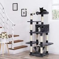 Catthings XXL Luxe Katten Krappaal Met Hangmat & Katten Huisjes