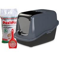 PeeWee Kattenbak EcoHus Startpakket