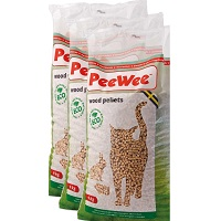 PeeWee Kattenbakvulling Houtkorrel