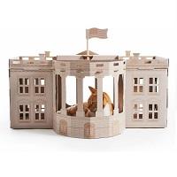Poopy Cat Landmarks White House - Kattenhuis