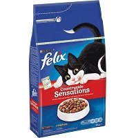 Felix Meaty Sensations - Kattenvoer Rund, Kip & Groenten