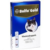 Bayer Bolfo Gold 80 Anti vlooienmiddel - Kat
