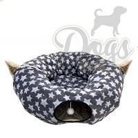 Cats & Co Donut speeltunnel voor de kat - Kattentunnel of puppy tunnel