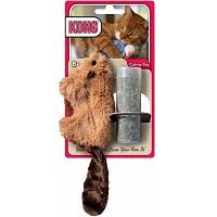 Kong Kat Catnip Bever - Speelmuis - Bruin