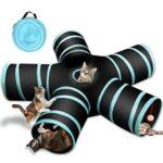 2. Skarf® 5 Gangen Speeltunnel voor Katten