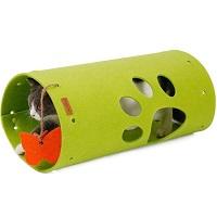 Speeltunnel voor katten - uitbreidbaar - een Doegly idee - 45 x 25 cm - GROEN
