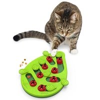 Nina ottosson puzzle & play buggin out groen 35x26x4 cm